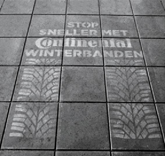 Tattiche di comunicazione non convenzionali - Rain Campaign Continental